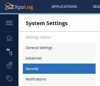 Ideally, XpoLog Center 7 should be available to authorized users only.