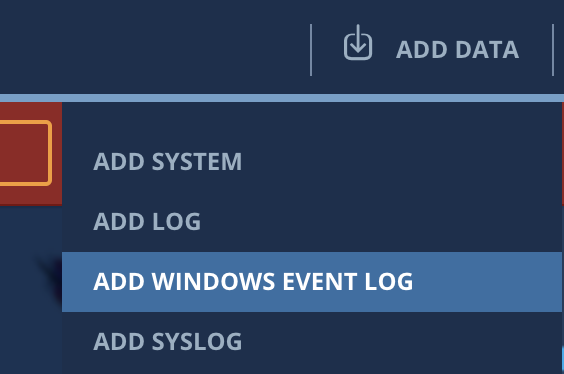 Adding Windows Event Logs to XpoLog