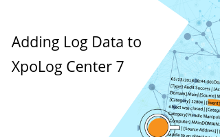 Learn how to add a few different types of log data to XpoLog.