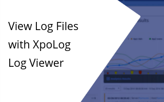 XpoLog Log Viewer offers a quick and easy way to browse, search and filter logs that have already been ingested or streaming through in real time.