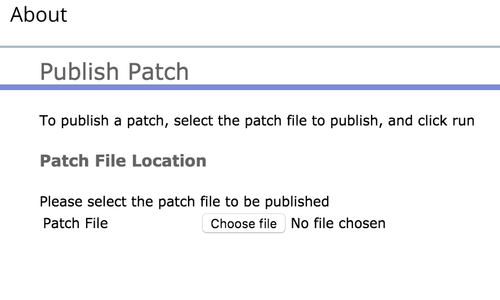 apply patch