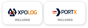 PortX License is included with XpoLog Free/Introduction Plans
